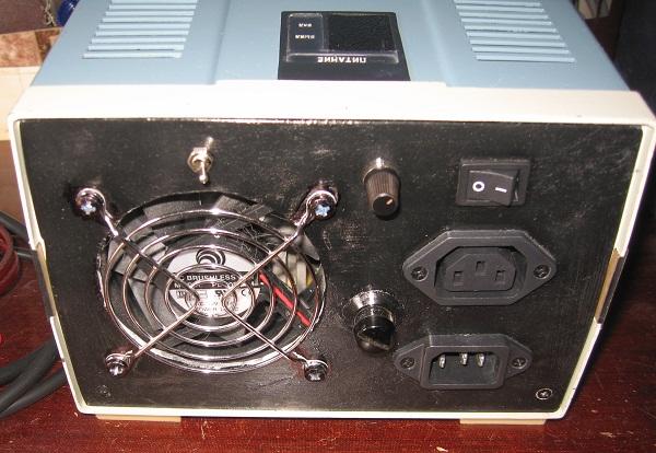 Схема подключения вентилятора с автоматом отключения dospel.